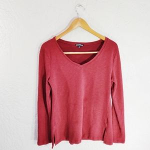 J. Crew Mercantile V-Neck Pullover Medium